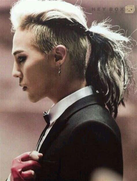 how to do gdragon hairstyle g dragon undercut hair