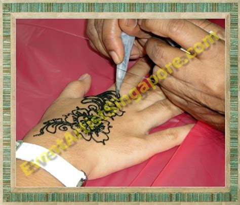 henna tattoo in singapore event artist singapore henna