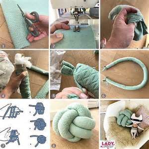 25 best ideas about knot pillow on pinterest fleece