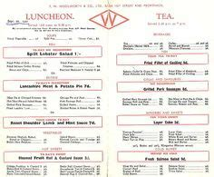 woolworths cafe design quarter menu menu 29 diner fairfax virginia 1950 s design