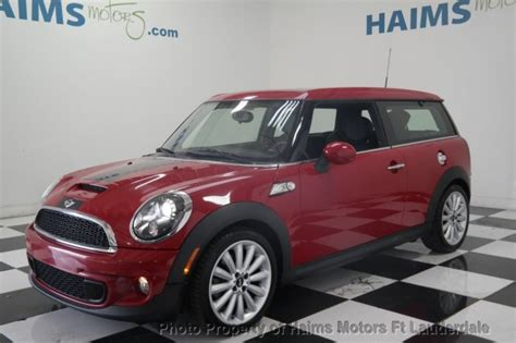 online service manuals 2012 mini cooper clubman lane departure warning 2012 used mini cooper s clubman 2dr coupe s at haims motors serving fort lauderdale hollywood