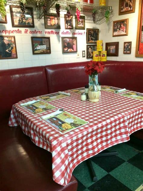 buca di beppo kitchen table buca di beppo revisited