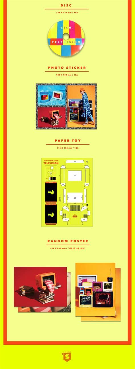 Zico 2nd Mini Album Television block b zico 2nd mini album television chulien