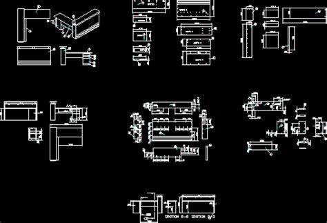 Reception Furniture 2d Dwg Plan For Autocad Designs Cad Reception Desk Cad Block
