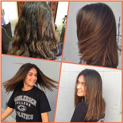 brazilian blowout results on curly hair brazilian blowout basin street hair salon newport beach