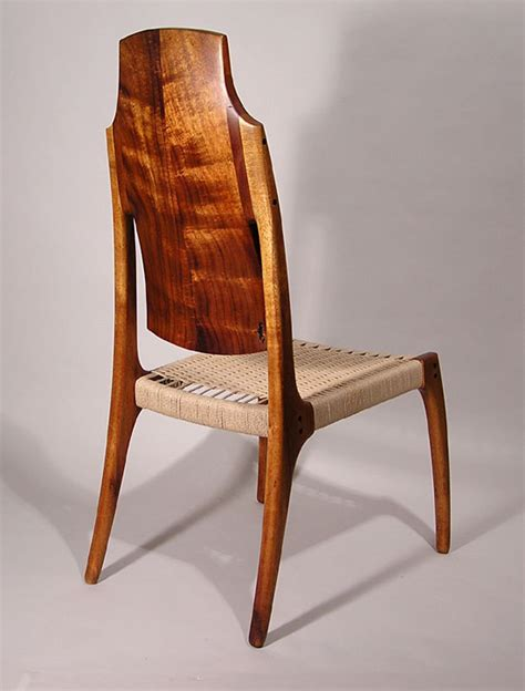 Ricks Furniture by Rick Pohlers Koa Chair Objects Usa