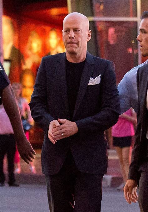 Bruce Willis Seen Out With by Bruce Willis Out In Zimbio
