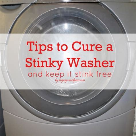 washer smell clean this and that pinterest