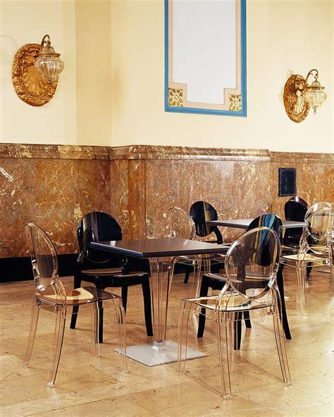 tavoli e sedie ristorante elizabeth sedie trasparenti per ristoranti e sale