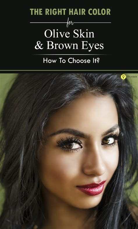 hair colors for your olive skin and brown eyes best lipstick color for olive skin and brown blonde dark