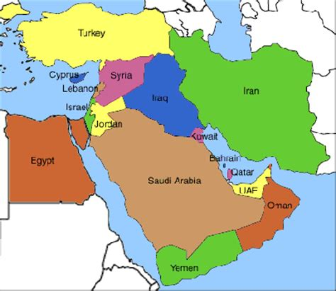 map of middle east with no country names bahrain hooper s war buren
