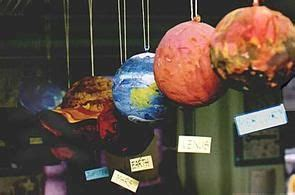 How To Make Paper Mache Planets - 17 best ideas about solar system on planet