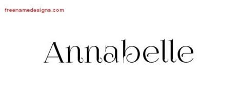 annabelle tattoo font generator vintage name tattoo designs annabelle free download free