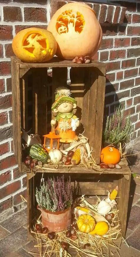 Herbst Dekoration Kaufen by Herbst Dekoration Weinkisten Deko Dekoration