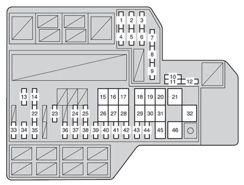2014 Highlander Fuse Box 24h Schemes
