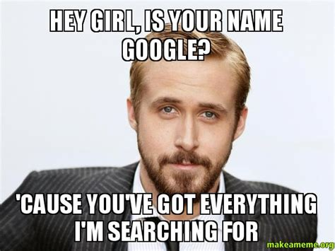 Hey Meme - ryan gosling states for the record that he has never said