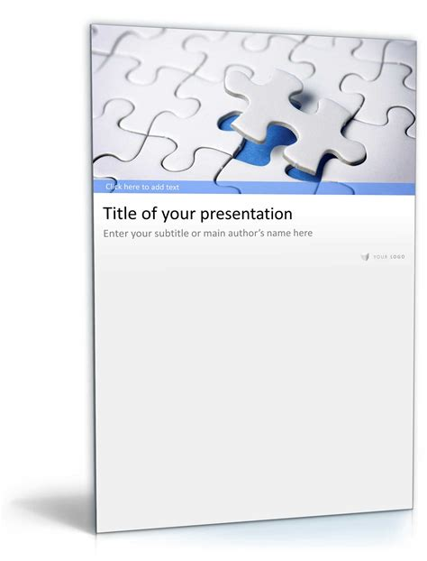 Powerpoint Design Vorlage Ndern powerpoint vorlage business pr 228 sentation puzzle design