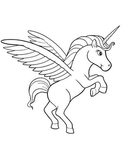 Dolce Baby Unicorno Disegno Da baby unicorno immagine da colorare gratis disegni da