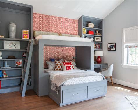 26 quartos modernos decorados cama beliche apartamento