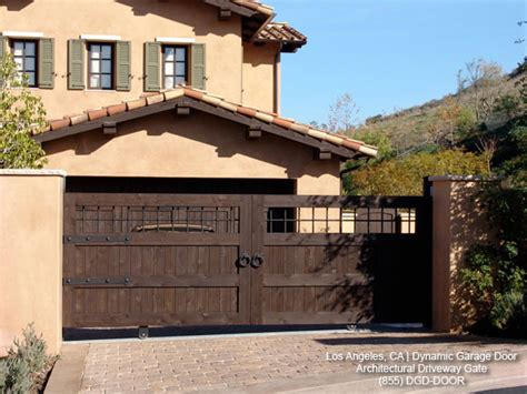 Home Exterior Gate Design Tuscan Style Custom Architectural Driveway Gate