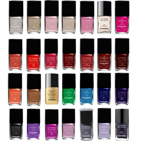 colors channel chanel color nail image 179443 on favim