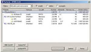 format dysku z gpt na mbr partycja ntfs zmieniona na chronioną gpt dysk