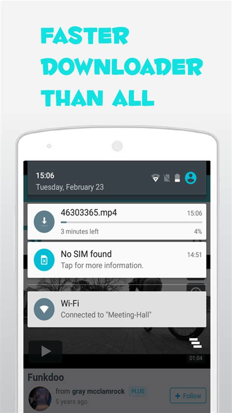fast downloader for android fast hd downloader t 233 l 233 charger et installer android