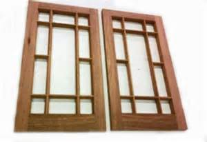 Craftsman Style Cabinet Doors Architectural Detail