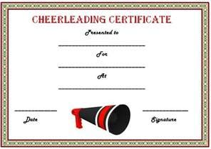 Participation certificate templates un mission resume and 20 free printable cheerleading certificate templates for yadclub Gallery