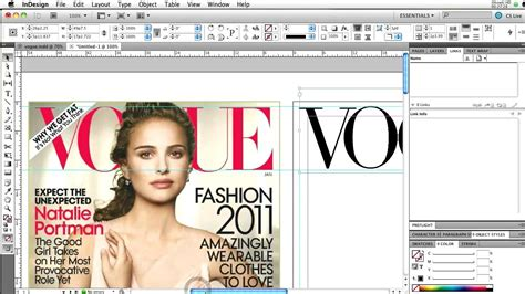 magazine design of the year gen109 indesign magazine cover part 1 of 2 youtube
