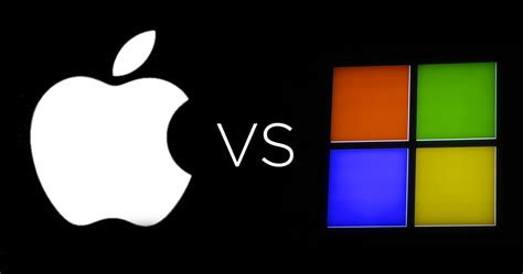 apple vs microsoft microsoft apple logo pictures to pin on pinterest pinsdaddy