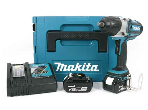 Makita Dtw 450 Rme Cordless Impact Wrench 18 V makita dtw450rmj 18v 2x4 0ah li ion impact wrench makpac kit