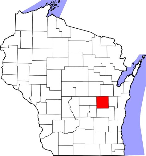 Will County Search File Map Of Wisconsin Highlighting Winnebago County Svg Facts For Kidzsearch