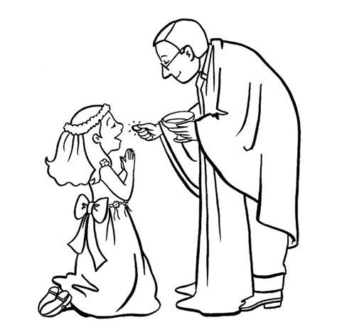 12 images of catholic reconciliation coloring pages