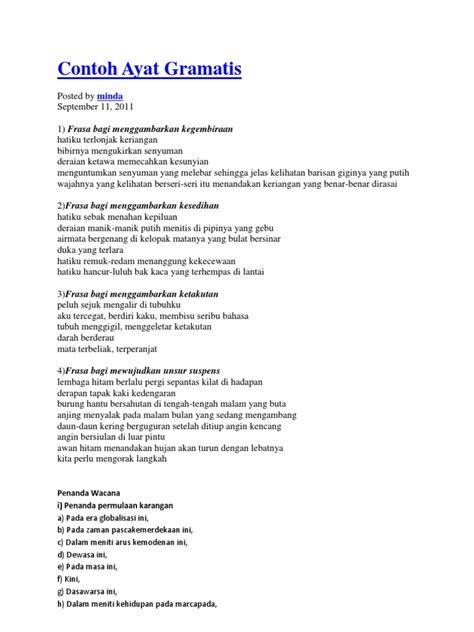 ayat ayat cinta 2 pdf contoh ayat gramatis