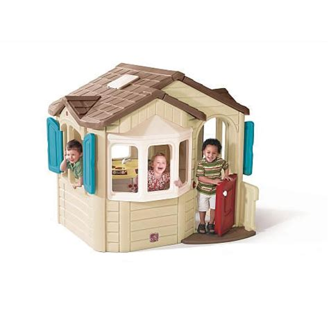 step2 naturally playful welcome home playhouse home