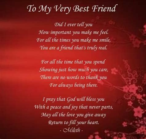 to my poem my best friend poems friendship to my best friend