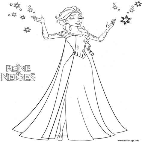 Coloriage Reine Des Neiges A Imprimer Gratuitement Jeux Coloriage Princesse Disney L