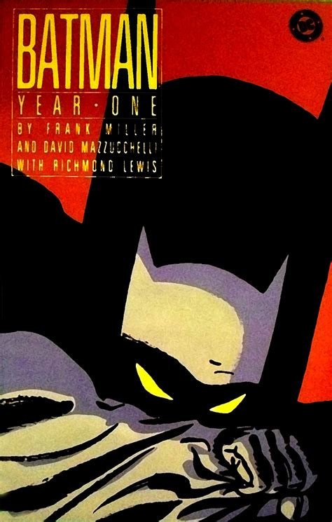 batman year one frank miller studio remarkable