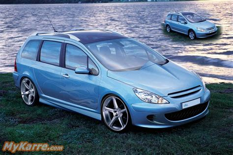 Auto Tuning Peugeot 307 Sw by Peugeot 307 Sw Tuning Diely Wroc Awski Informator