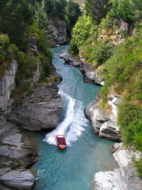 shotover river jet boat ride new zealand file shotover jet jet boating the shotover river canyons