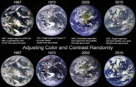 all the colors of the earth debunked quot blue marble quot photos show a changing earth