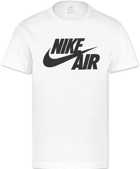 T Shirt Nike Air Black nike air logo t shirt white