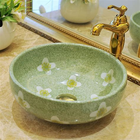 Handmade Wash Basin - europe vintage style ceramic wash basin sinks countertop