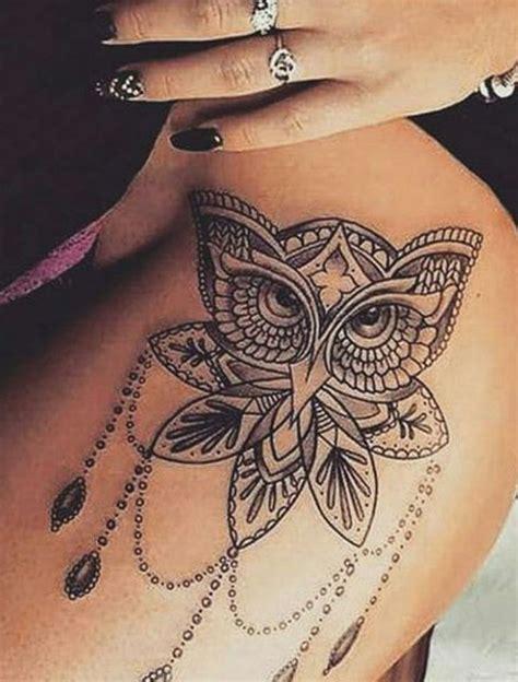 tattoo mandala bein bildergebnis f 252 r tattoo oberschenkel frau mandala d 246 vme