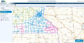 road conditions map freezing event of january 16 2017