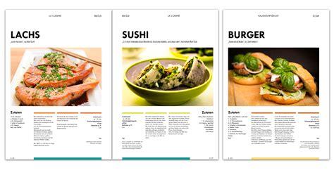 kochbuch layout word april 2015 grafffix