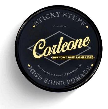 Pomade Godfather corleone sticky stuff pomade pomadeshop
