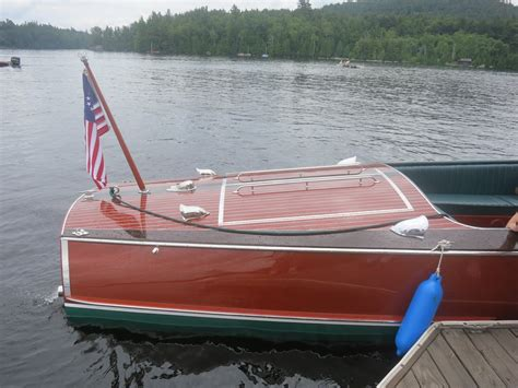 boat upholstery lake george ny classic wooden powerboats tom the backroads traveller