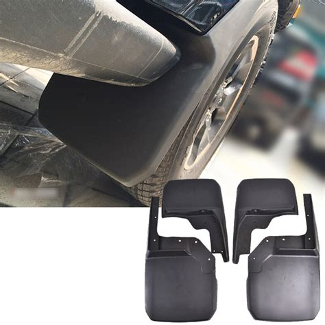 Jeep Jk Mud Flaps Aliexpress Buy 4pcs Front Rear Mud Flaps Fit For